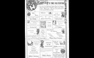 Halloween in 1941