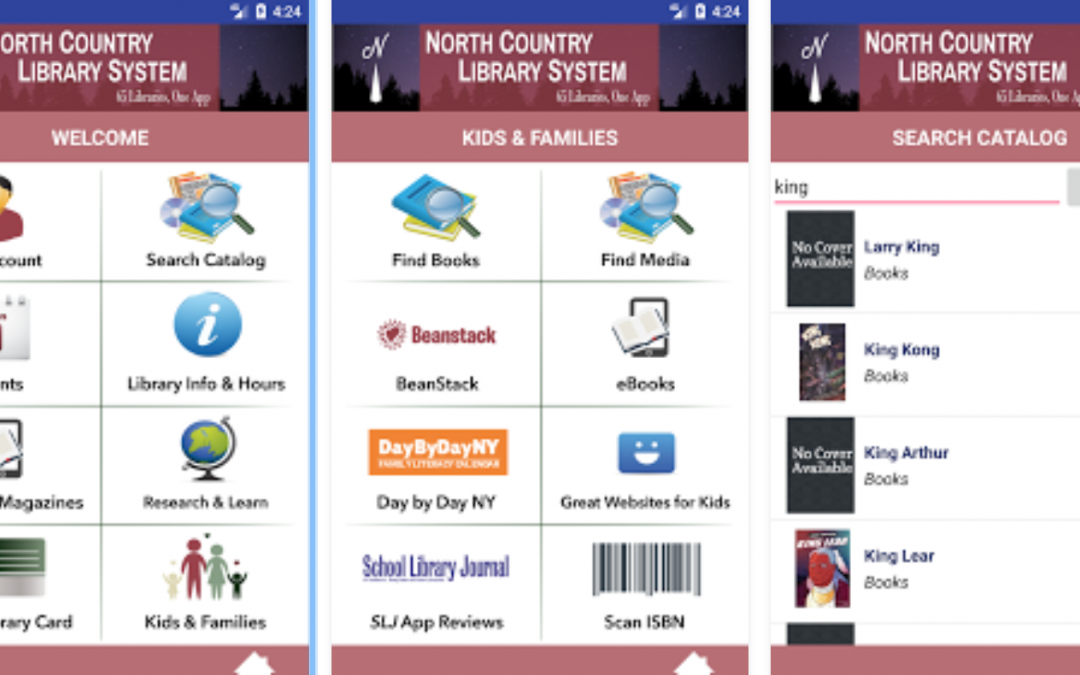 Member Profile: North Country Library System Mobile App by Angela Newman