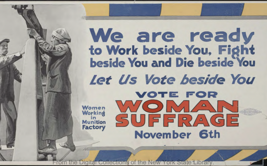 Women's Suffrage Online Exhibit Now Available on New York Heritage