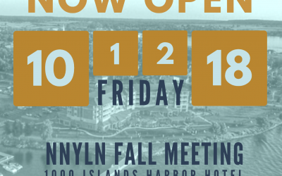 NNYLN Fall Meeting Registration Open!