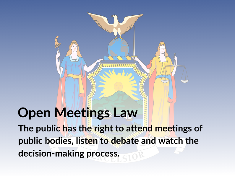 Open Meetings Law Extending Virtual Access